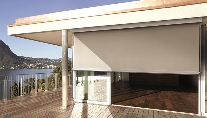 Tende da sole trento coperture da esterno tende verticali - Tende da esterno a caduta ...